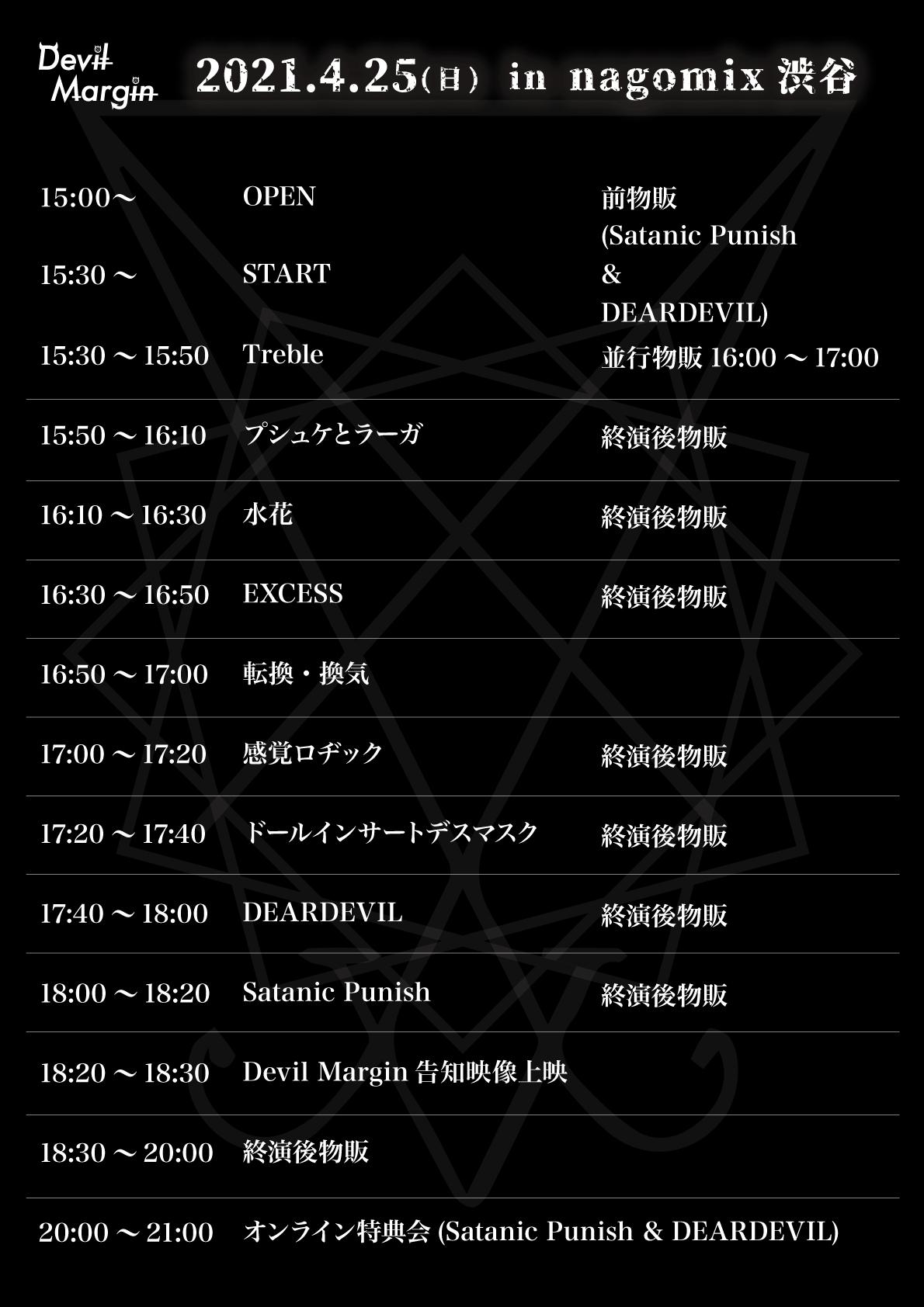 4月25日(日)nagomix渋谷ライブ出演